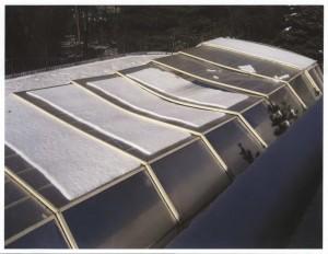 Collapsed Enclosure due to snowload