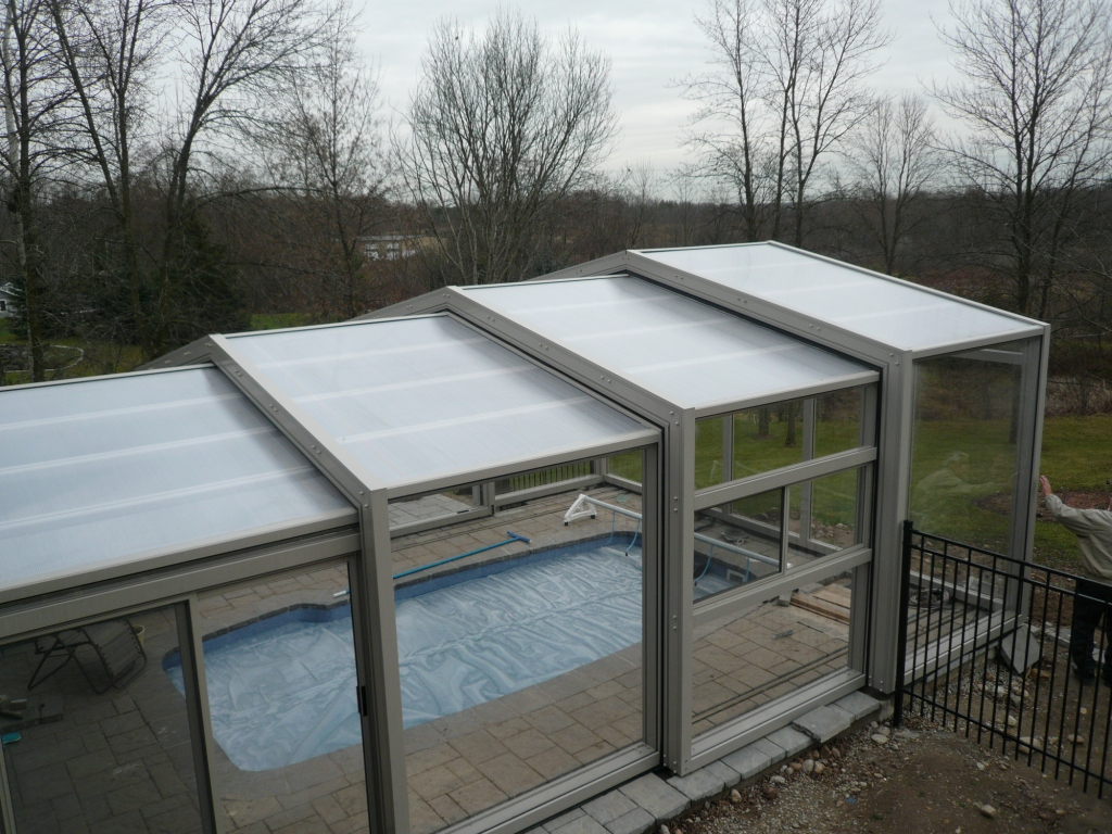 Spa Rooms and custom built enclosures designed and built by Covers in Play