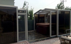 Spa Enclosure