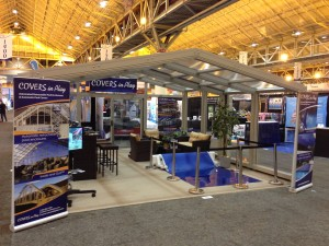 Pool Spa & Pool Trade Show Booth