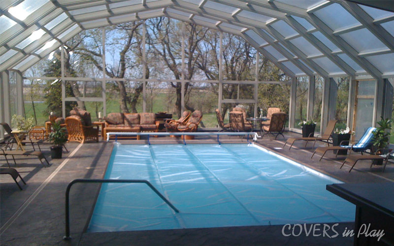 Covers in play retractable roof enclosure over your - Swimming pool screen enclosures cost ...