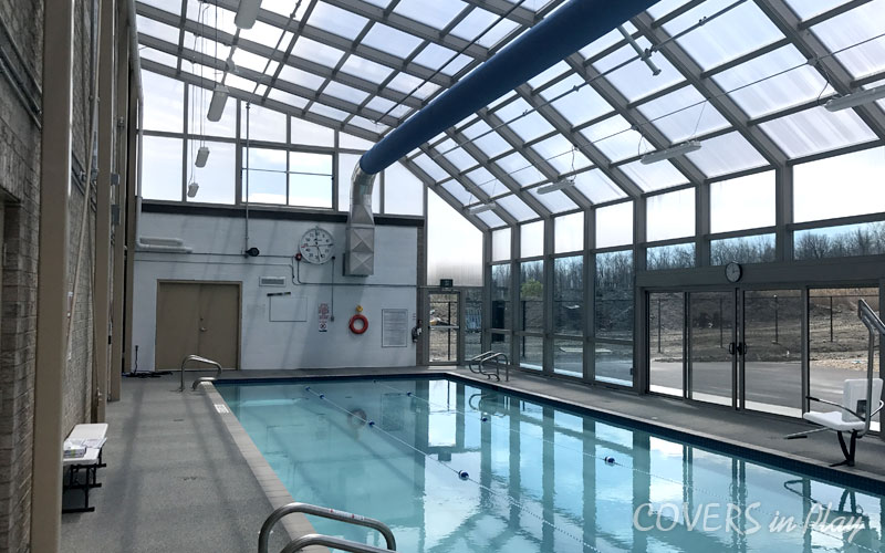 Fixed Commercial Swimming Pool Enclosure