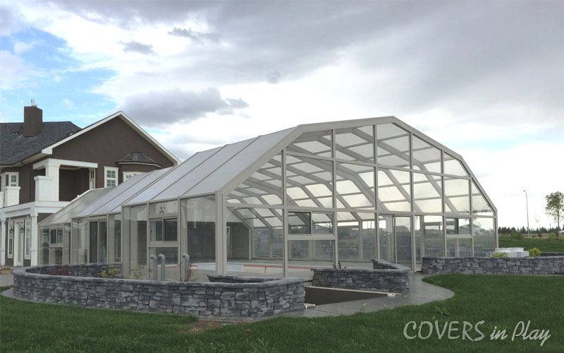 Large Pool Enclosure
