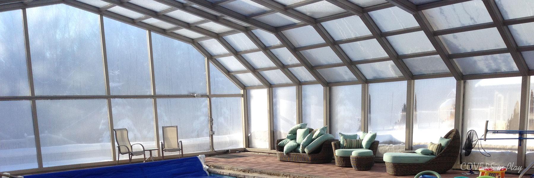 Get a quote retractable enclosures pool enclosures for Retractable pool enclosure