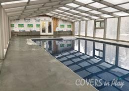Edmonston Alberta Fixed Lean-To Pool Enclosures