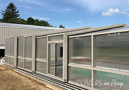 Genoa City Wisconsin Indoor Outdoor Pool Enclosure