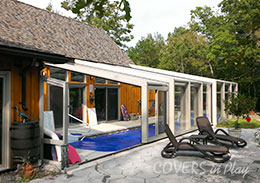 Pool Enclosure Trent River Ontario