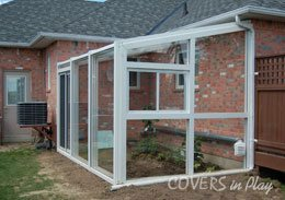 Telescopic Pool Enclosure