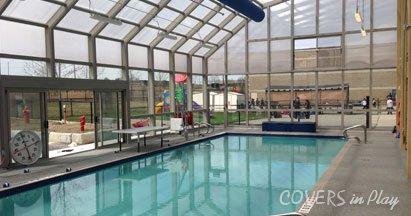 Custom Retractable Pool Enclosures For Indoor Outdoor Pools