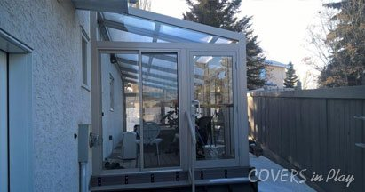 Lean to Pool Enclosures