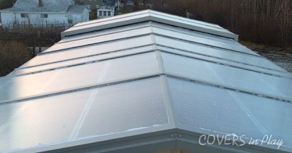 Swimming Pool Roof Enclosure